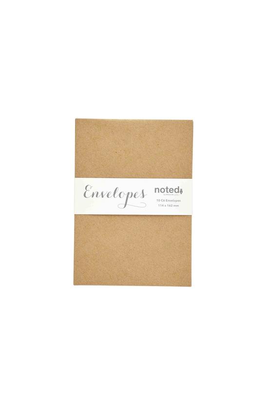 Noted Envelopes C6 Kraft Pack ...