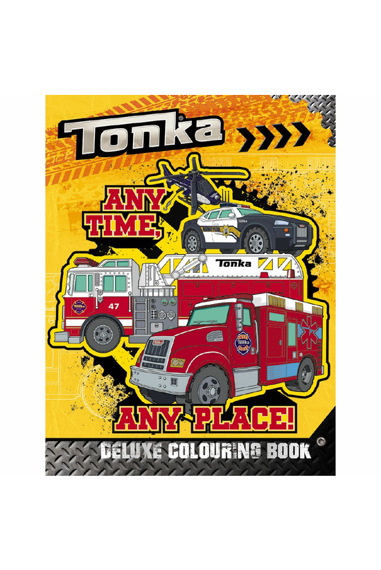 Tonka Deluxe Colouring Book