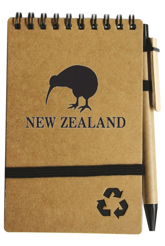 Recycled Notepad And Pen Set B...