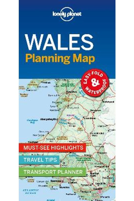 Lonely Planet Wales Planning M...