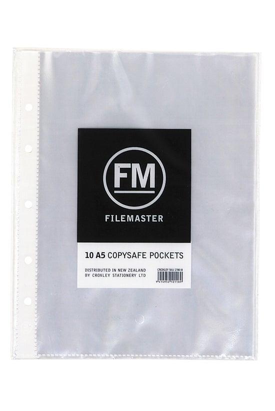 Fm Copysafe Pockets A5 10 Pack