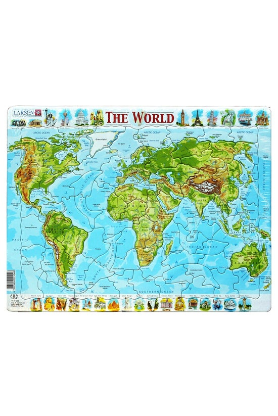Map Of The World Jigsaw Puzzle...