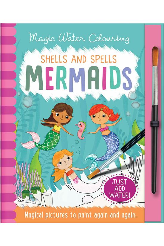 Magic Water Colouring - Shells...