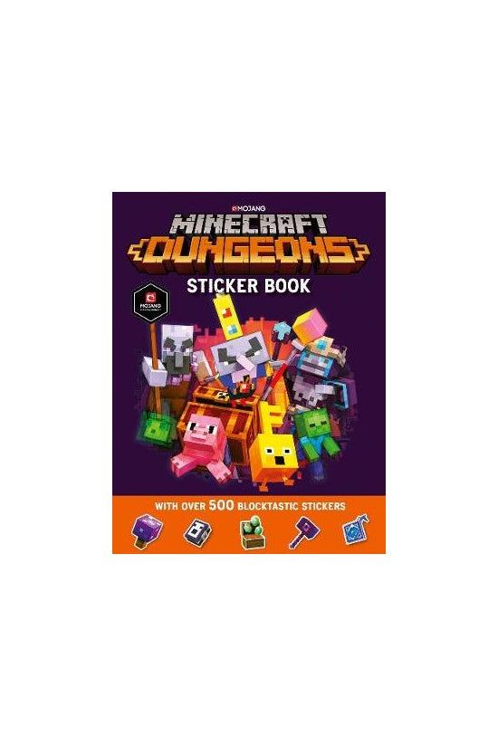 Minecraft Dungeons Sticker Boo...