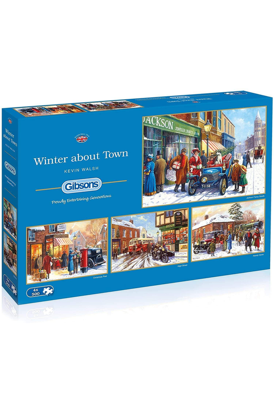 Gibsons Jigsaw Winter About To...