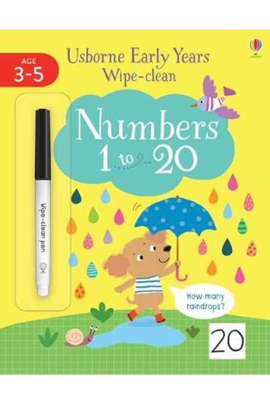 Early Years Wipe-clean Numbers...