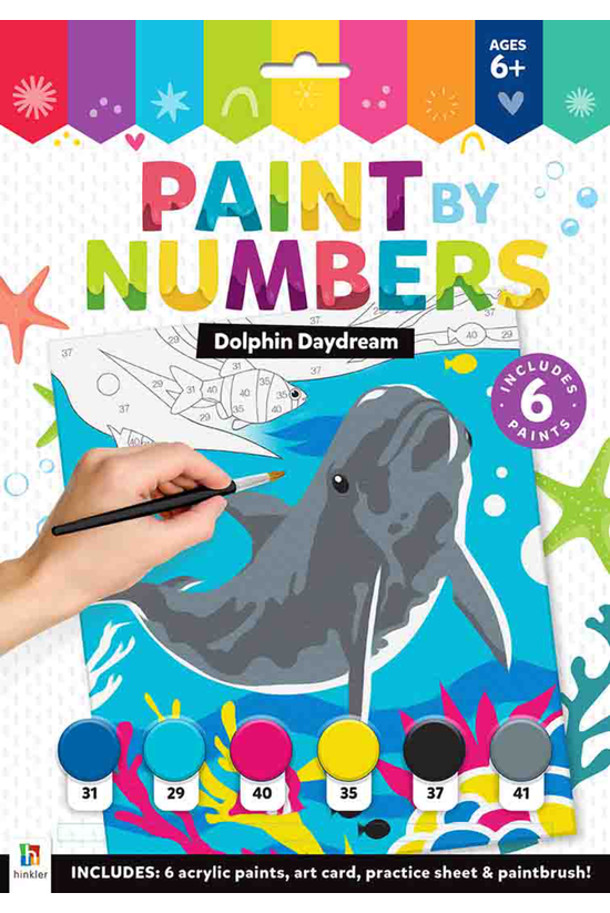 Dolphin Daydream Paint By Numb...