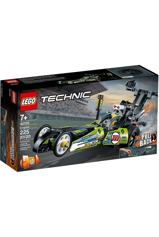 Lego Technic: 2-in-1 Dragster ...