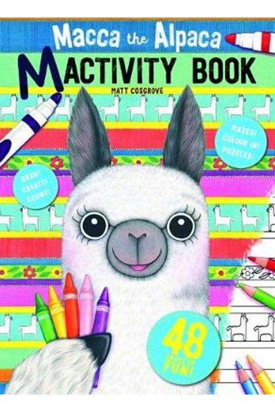 Macca The Alpaca Mactivity Boo...
