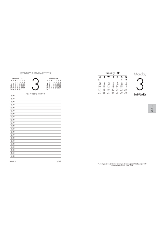 2022 Collins 13e Desk Calendar...