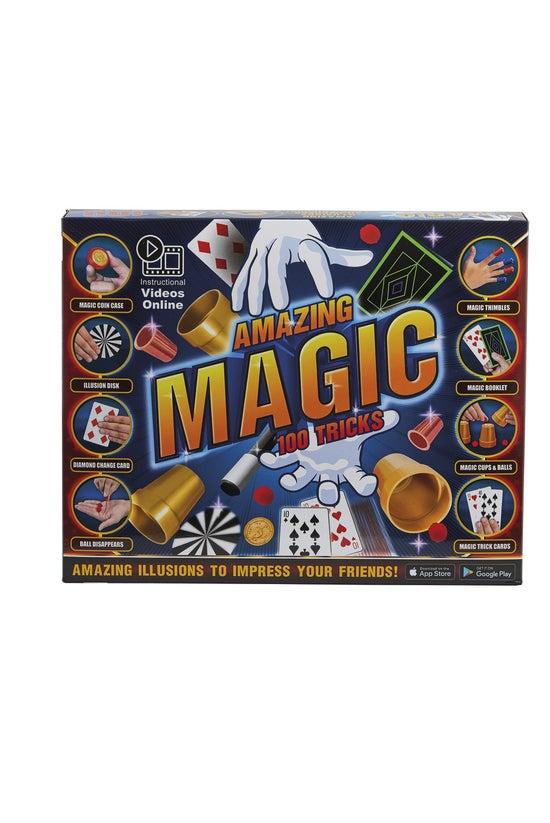 Amazing Magic 100 Tricks Box