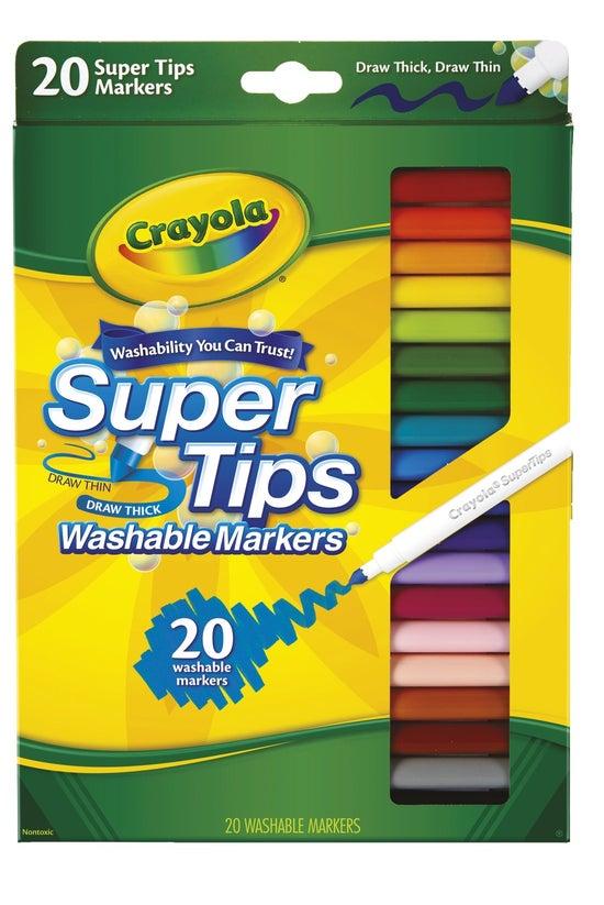 Crayola Washable Super Tip Mar...