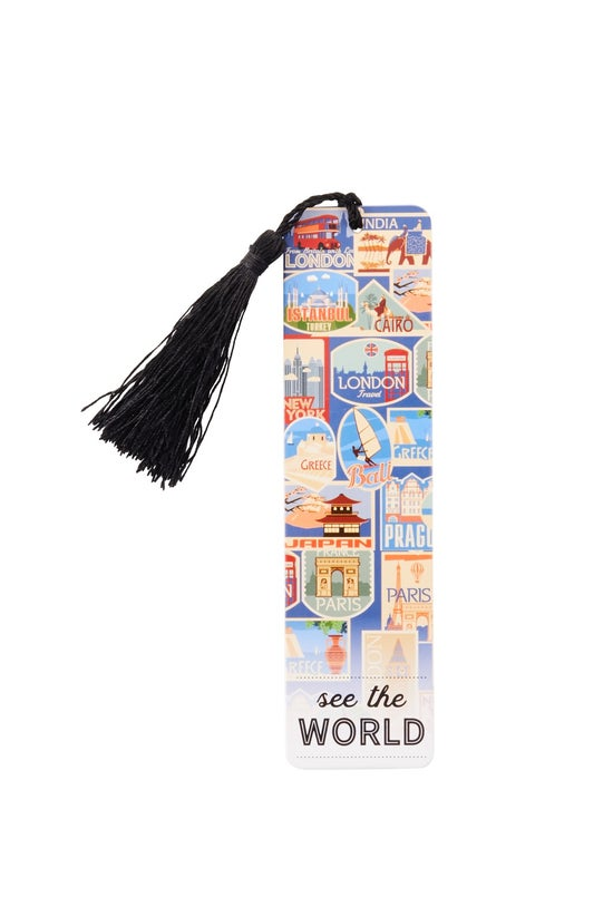 Noted Bookmark With Tassel See...