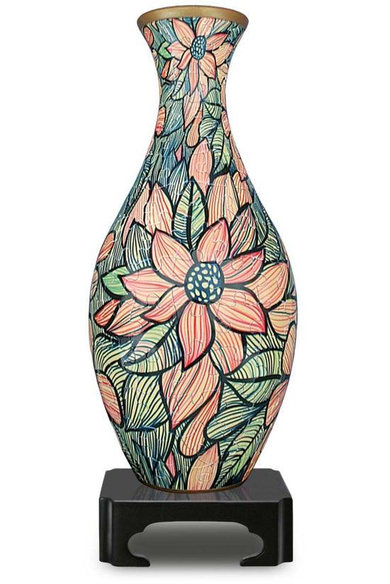 Pintoo Vase Seamless Flowers 3...