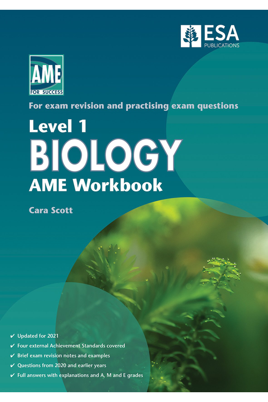 Ncea Level 1 Biology Ame Workb...