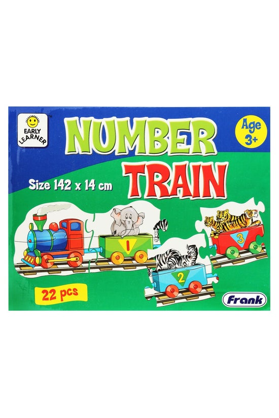 Frank Number Train Jigsaw Puzz...