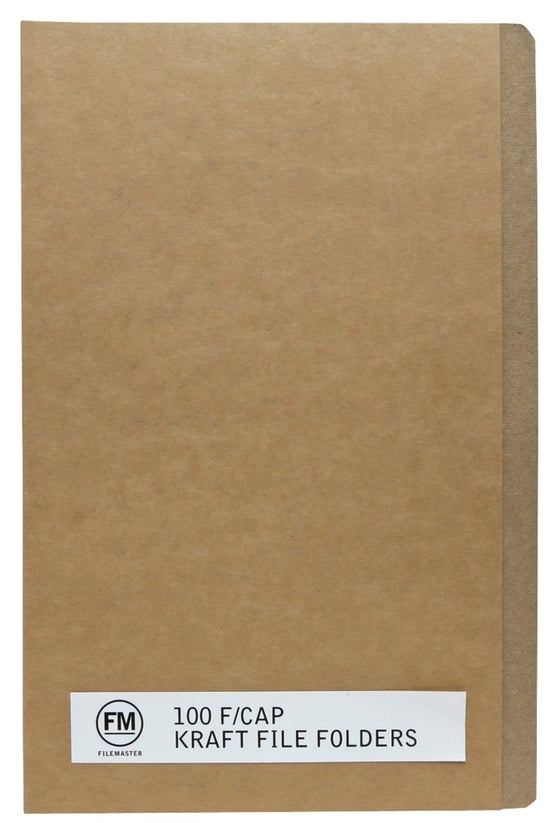 Fm File Folders Kraft Foolscap...