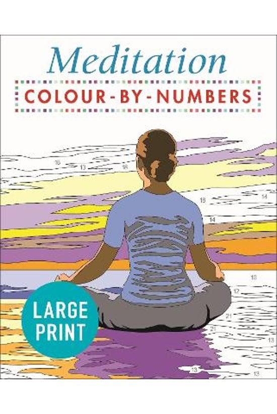 Large Print Meditation Colour ...