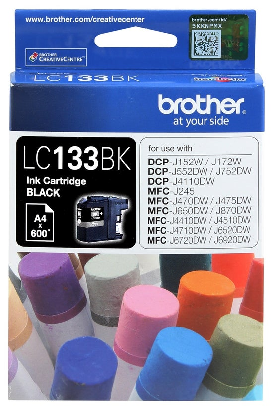 Brother Ink Cartridge Lc133bk ...