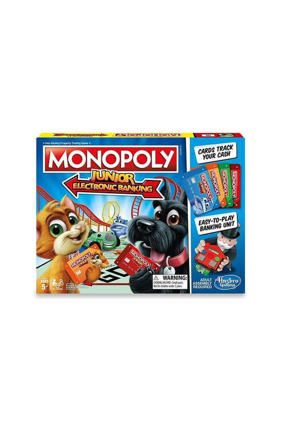 Monopoly Junior Electronic Ban...