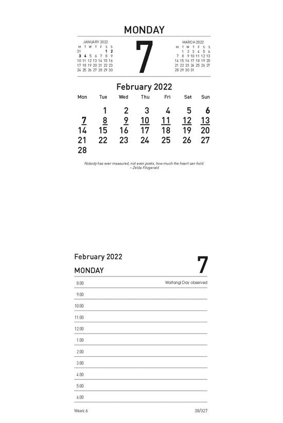 2022 Collins 13h Desk Calendar...