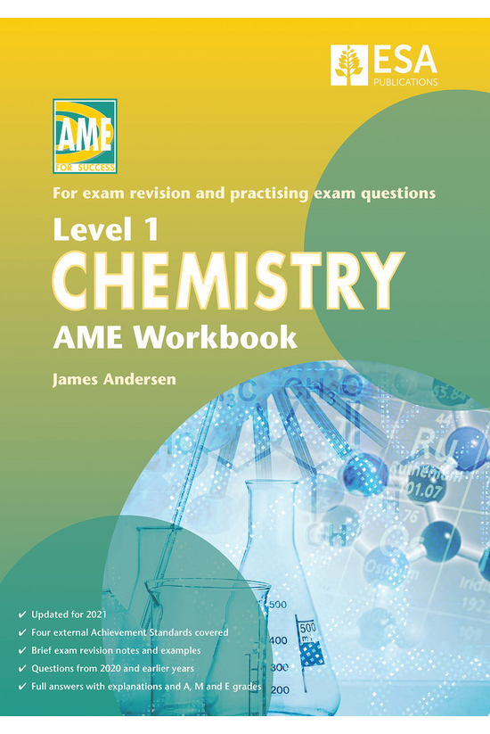 Ncea Level 1 Chemistry Ame Wor...
