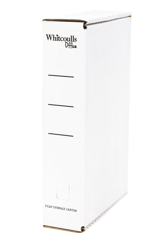 Whitcoulls Foolscap Storage Ca...