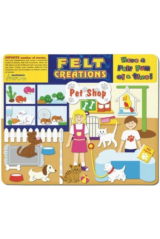 Felt Creations Pet Shop