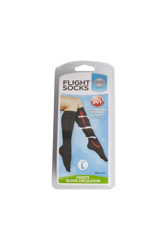 Globite Flight Socks Black Lar...