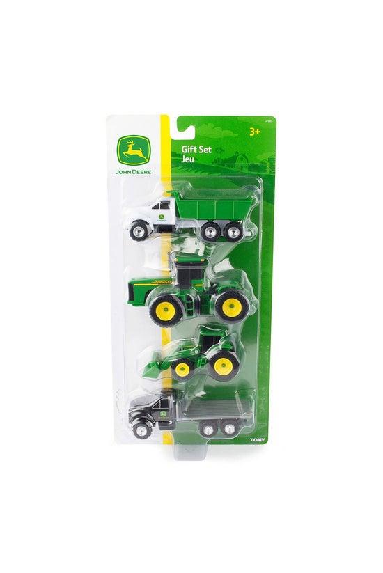 Tomy John Deere 4 Piece Vehicl...
