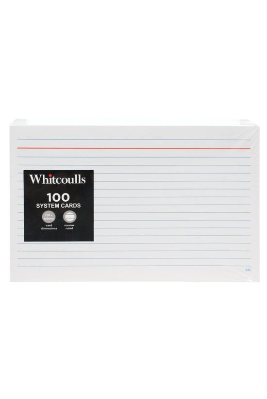 Whitcoulls System Cards 6x4 10...