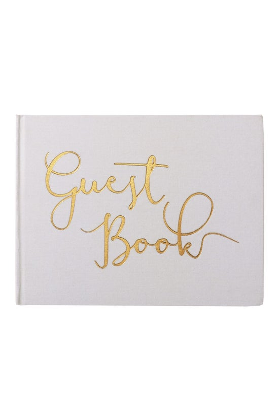 Noted Wedding Guest Book Fabri...