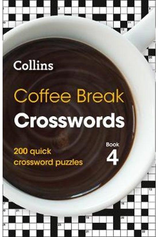 Coffee Break Crosswords Book 4
