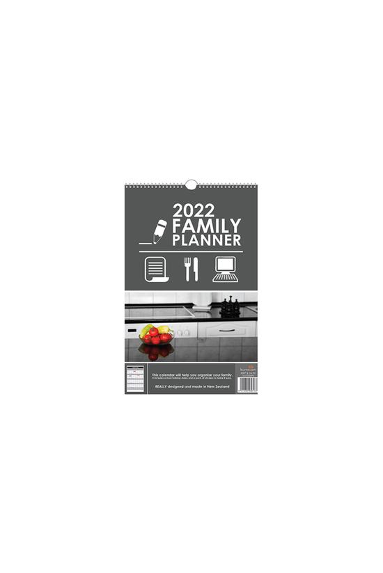 2022 Wall Calendar Family Plan...