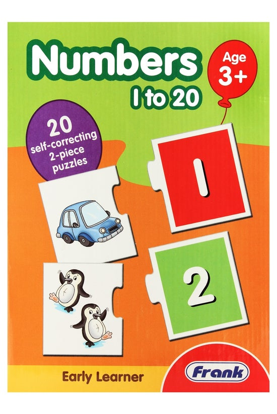 Frank Numbers 1 To 20 Puzzle P...