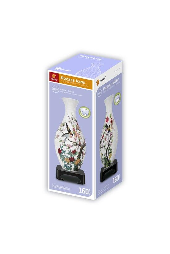 3d Jigsaw Vase Birds & Flo...