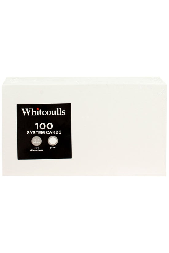 Whitcoulls System Cards 5x3 10...