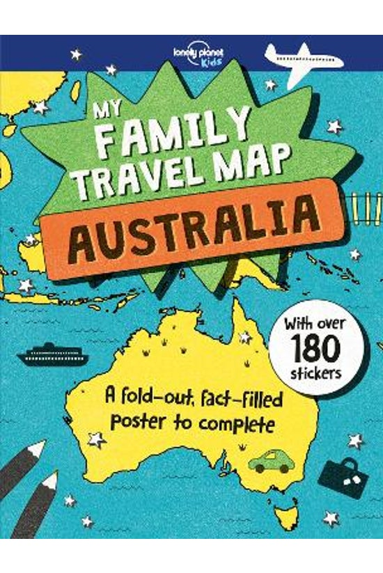 My Family Travel Map - Austral...