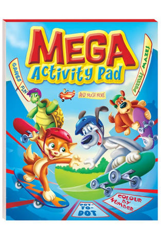 Mega Activity Pad Red