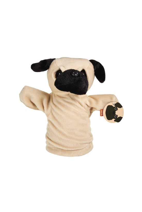 Hand Puppet Pugsly Pug