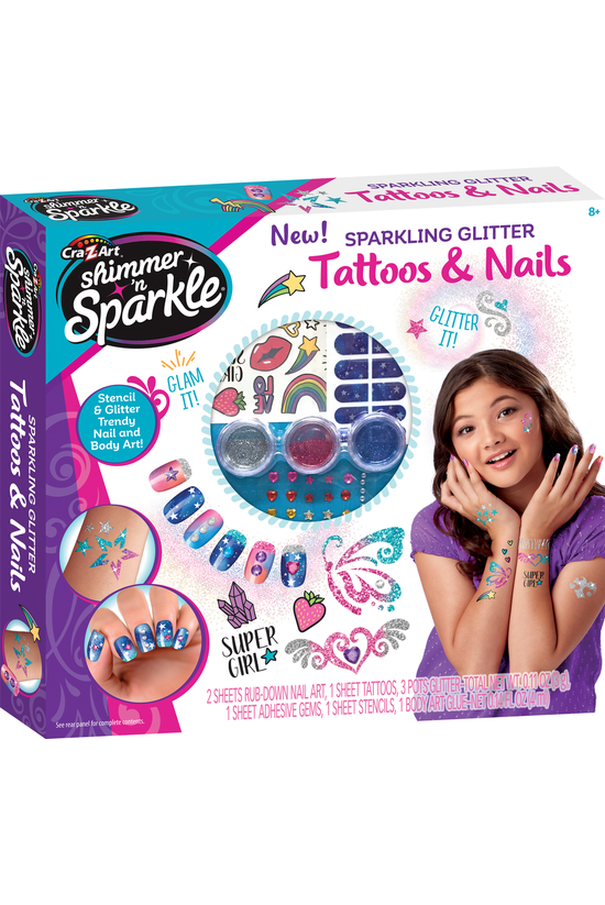Shimmer 'n Sparkle: Tattoos &a...