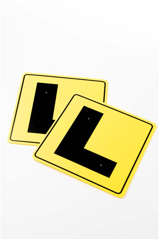 Learner Driver L Plates