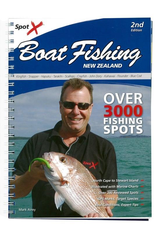 Spot X Boat Fishing Nz 2nd Edi...