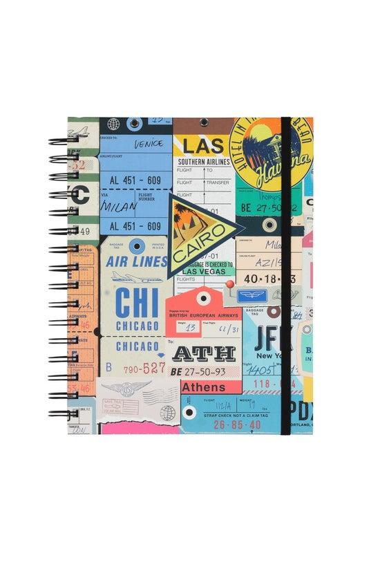 Whsmith Travel Notebook A5 Vin...