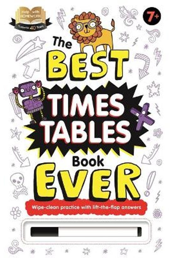 The Best Times Tables Book Eve...