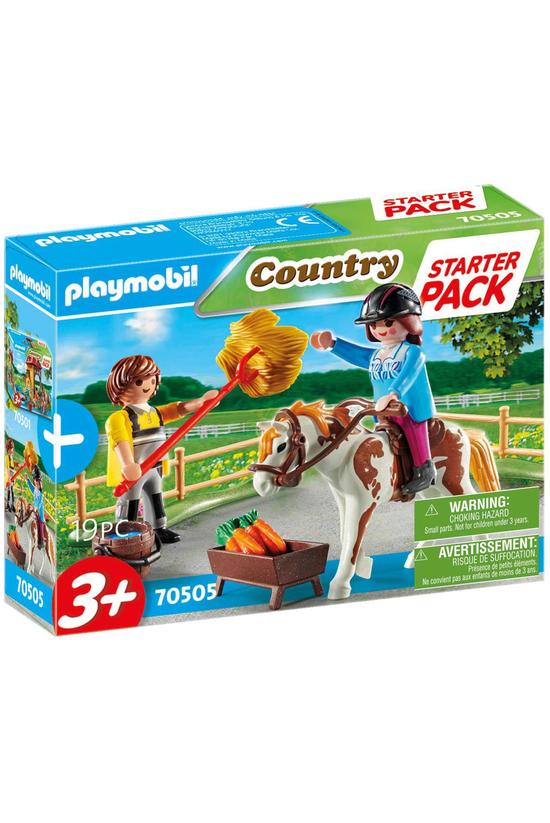 Playmobil Starter Pack Horseba...