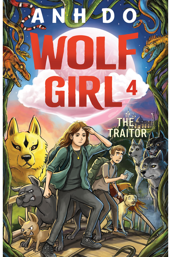 Wolf Girl #04: The Traitor