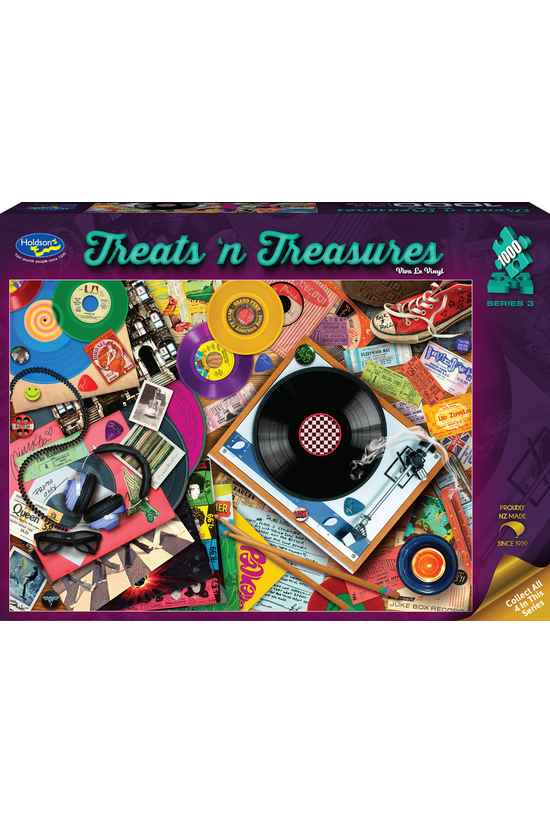 Treats N Treasures Series 3: V...