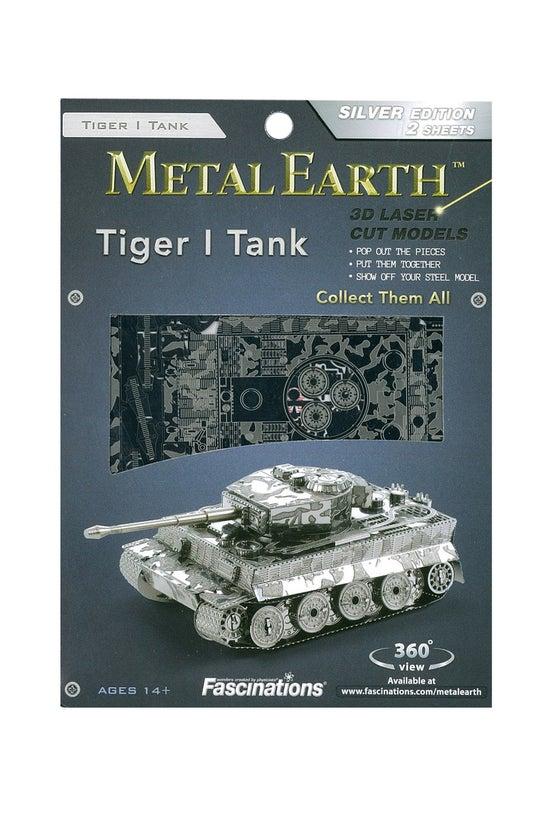 Metal Earth Tiger Tank