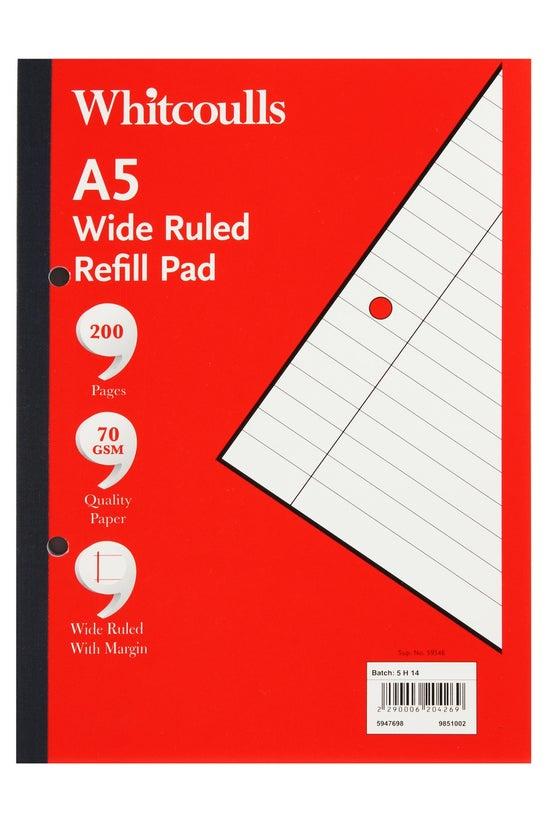 Whitcoulls Refill Pad A5 100 L...